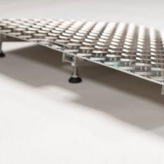 Metalen drempelhulp